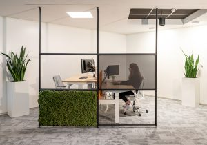 Cradle to cradle silver for maars partition walls