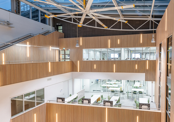Maars living walls creates functional spaces for fontys university