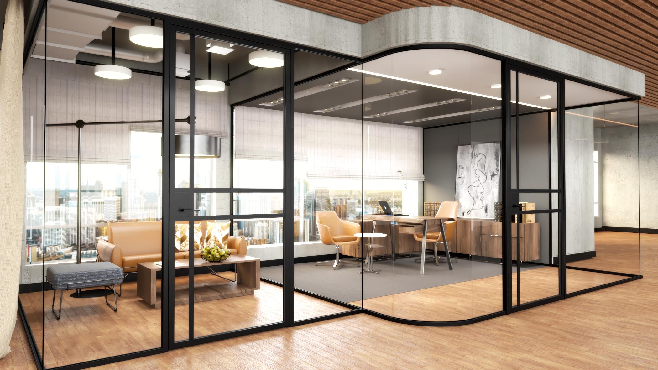 Groundbreaking design: The Slim Framed Glass Door by Maars Living Walls